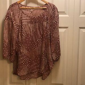L C lauren conrad blouse